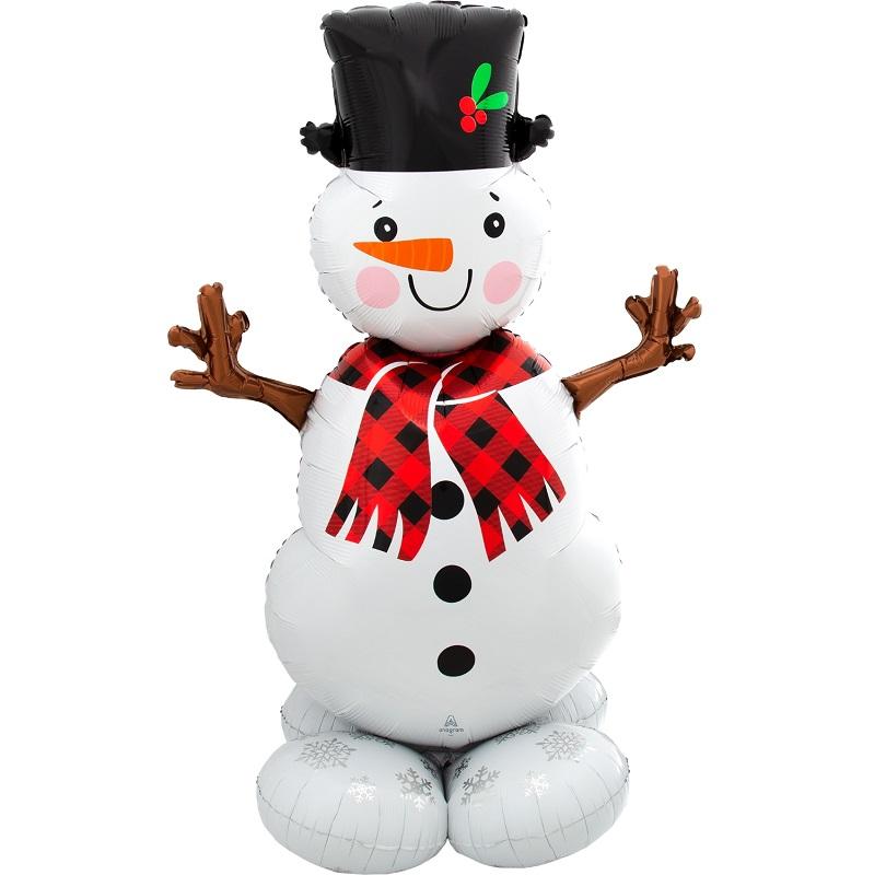 Ходячая фигура Снеговик