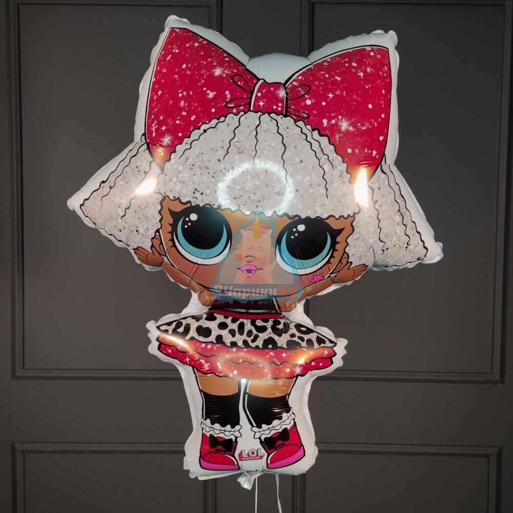 Фольгированная кукла ЛОЛ (LOL), Роскошная Дива