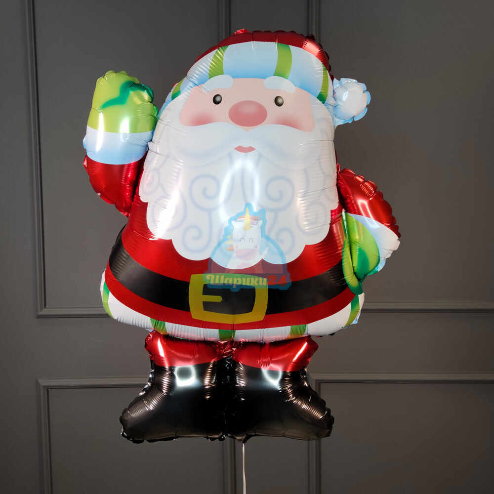 Фольгированная фигура Дед Мороз