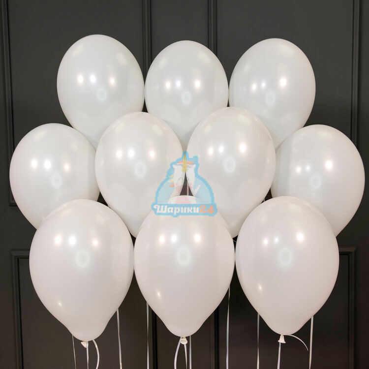 Гелиевые шары белые