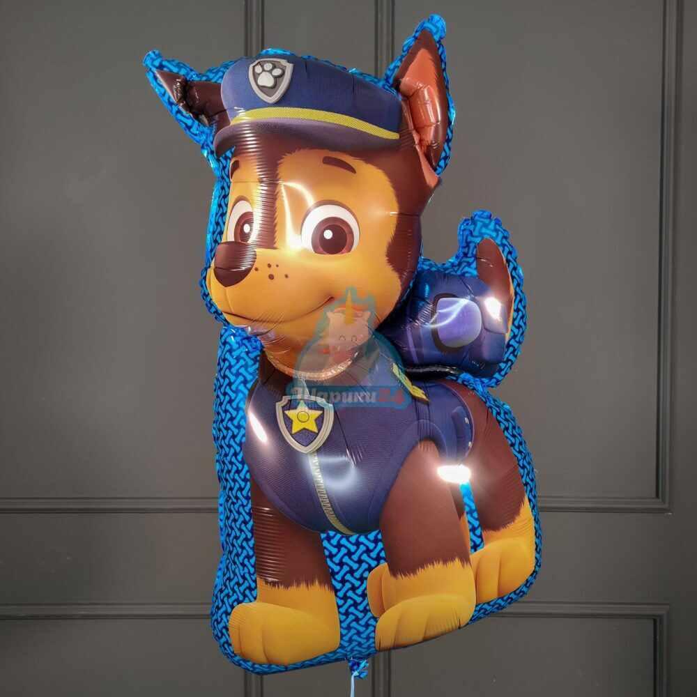 Фольгированная фигура Щенячий патруль Чейз