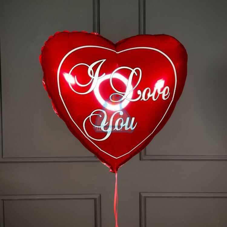 Сердце I love you на 14 февраля 1 шт.