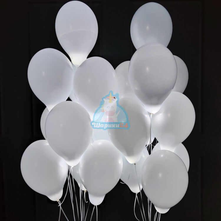 Светящиеся шары с белыми светодиодами