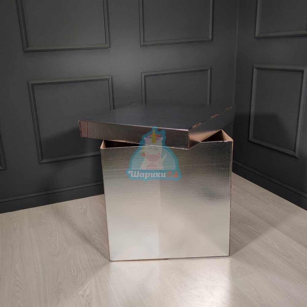 Серебряная коробка