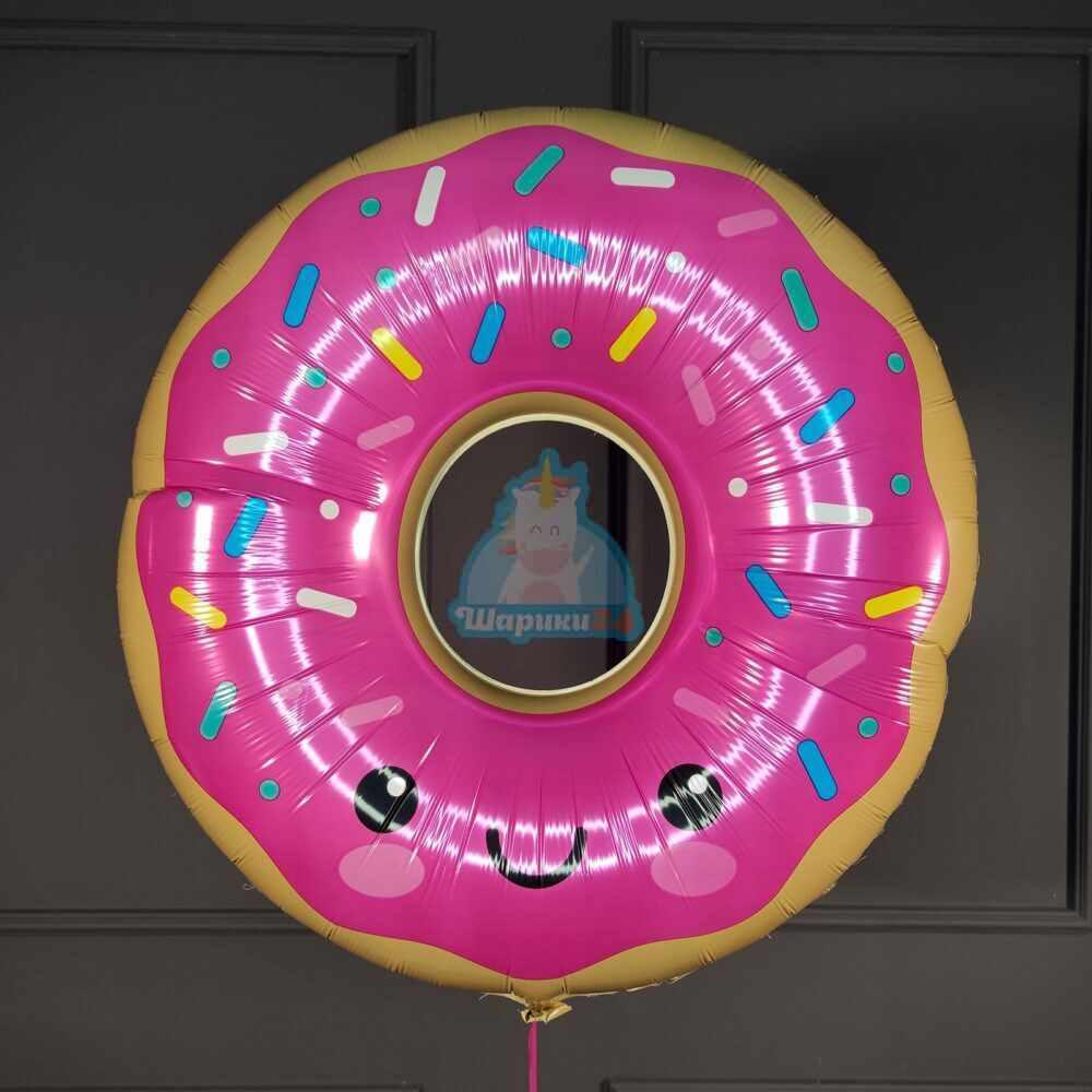 Фольгированная фигура пончик