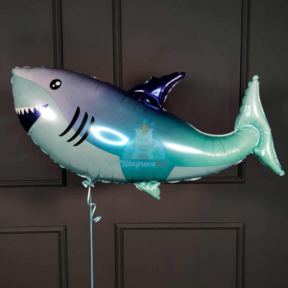 Фольгированная фигура акула