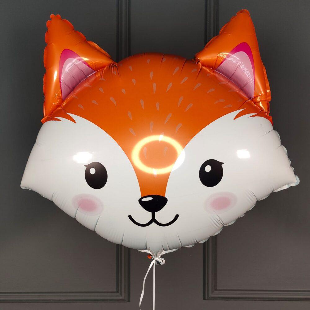 Фольгированная голова лисы