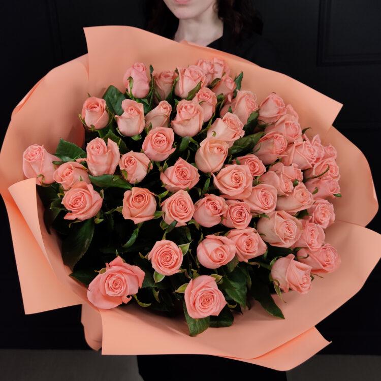 Букет из 51 розы Анна Карина 80 см