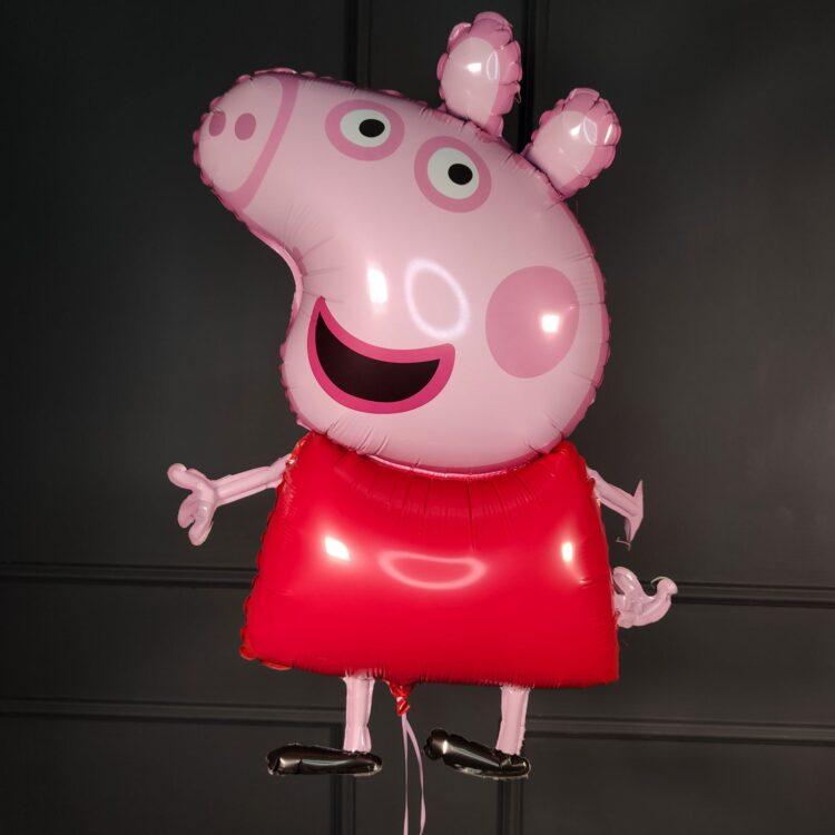 Фольгированный шар Свинка Пеппа Джордж