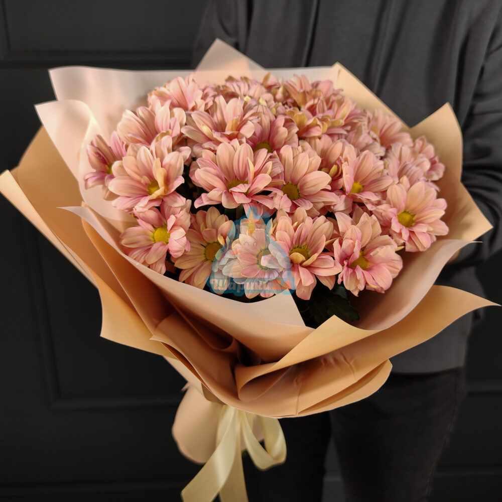 Букет осенних хризантем