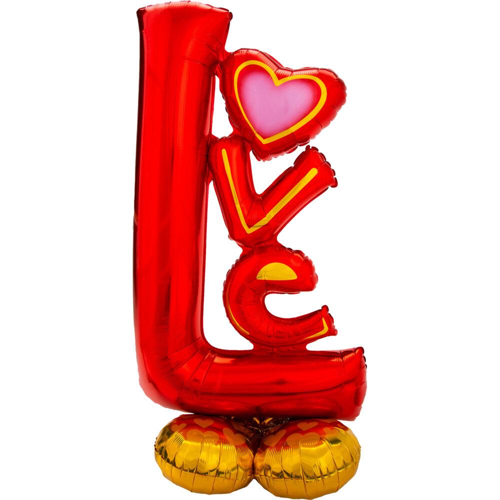 Ходячая фольгированная фигура LOVE