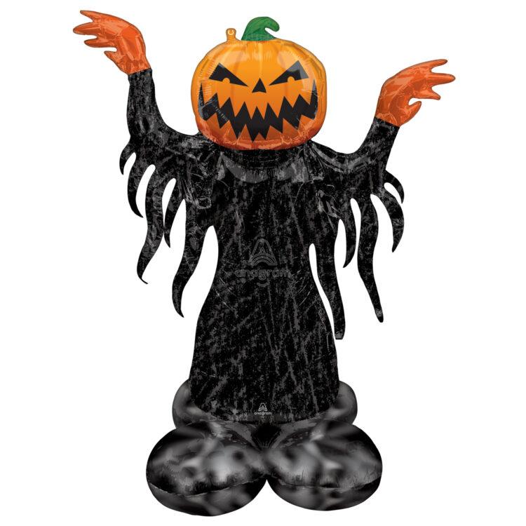 Ходячая фольгированная фигура Демон Тыква