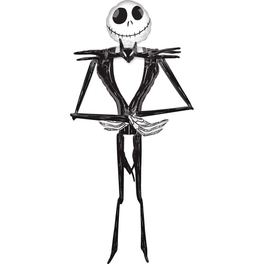 Ходячая фольгированная фигура Джек Скеллингтон